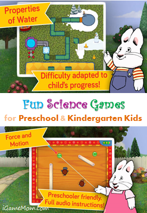 Fun Science Games for Preschool and Kindergarten kids