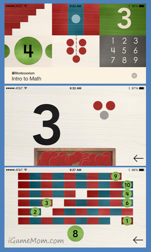 Montessori Math App Teaching Numbers