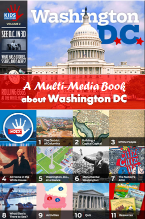 Multimedia book about Washington DC
