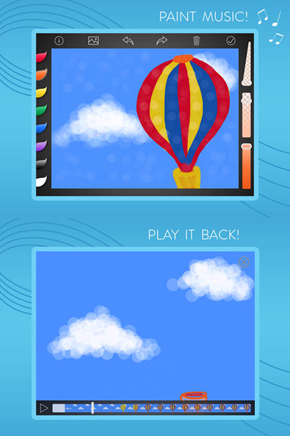 Musical Paint - a wonderful app for kids