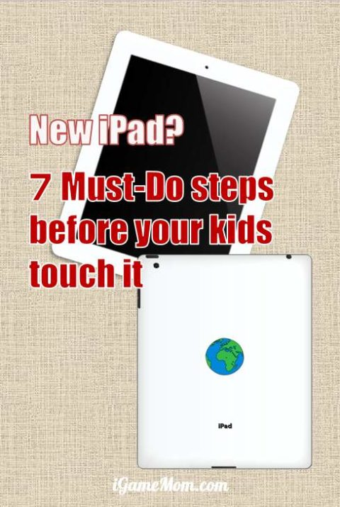 What to do with a new iPAD? A must read parent's guide on new iPad. How to set up the system so there will be no accidental downloads; how to lock the screen so kids can't get out of the app; how to ensure online safety? how to choose good educational apps, including free apps; and more. Practical parenting hack from a tech savvy mom.
