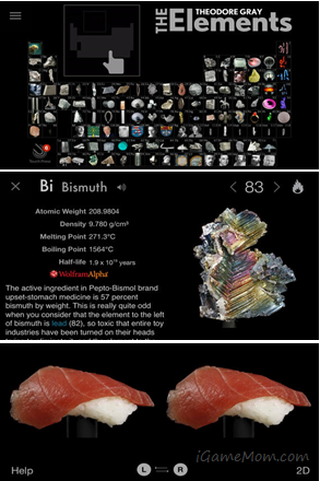 The Elements A visual exploration - Interactive Book App about elements
