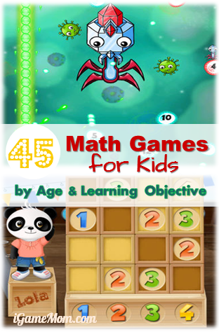 45 Math Games for Kids by Age and Learning Objectives