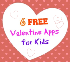 6 free valentine apps for kids