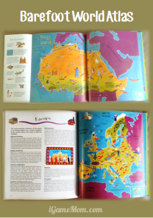 Barefoot World Atlas Print Book