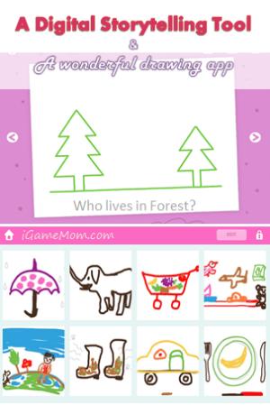 Digital Storytelling Tool - drawing app
