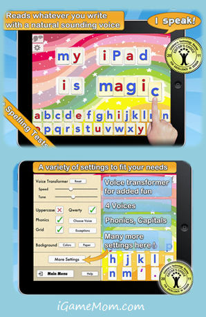 Fun Alphabet and Spelling with Word Wizard