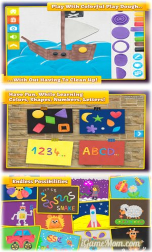 Imagination Box - learn colors shapes letters and numbers with creativity