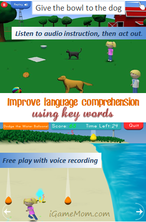 Improve language comprehension using key words