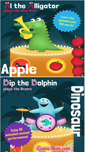 Learn Alphabet with Animals and Music