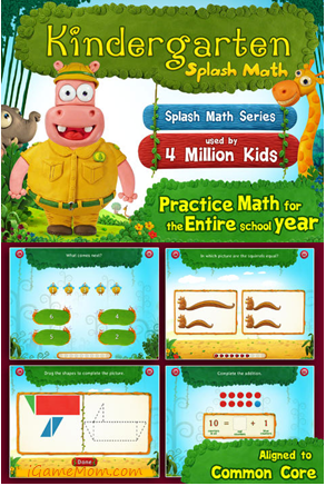 Math practice for kindergarten kids