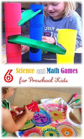 6 science and math games for preschool kids
