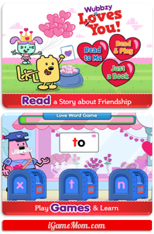 Celebrate Valentine with Wubbzy Loves You