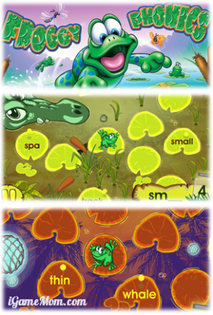 Fun Phonics App with Froggy