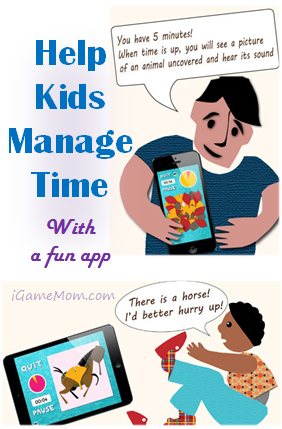 Help Kids Manage Time with Fun App