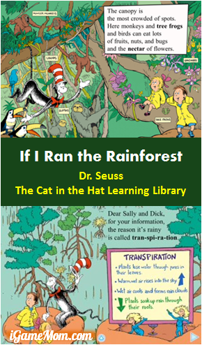 If I Ran the Rainforest - Dr Seuss The Cat In The Hat Learning Library