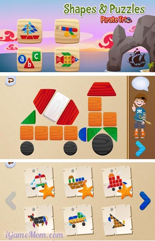 Learn Shapes Colors and Fine Motor Skills - Shapes and Puzzles App