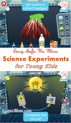 Science experiments for young kids