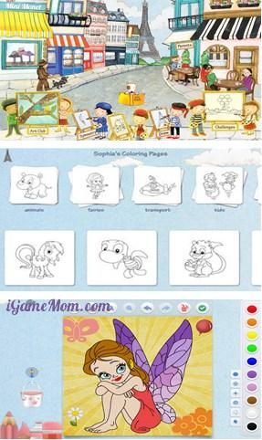 fun art app for kids creativity - Mini Monet