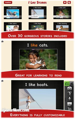 Books for Reading and Creating - I Love Stories