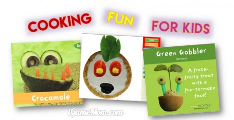 Cooking fun for kids app with recipes kids can make