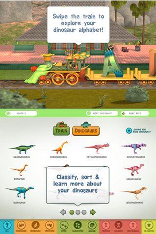 Dinosaur Train A to Z App