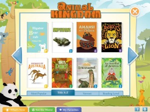 Farfaria App - traveling library for kids