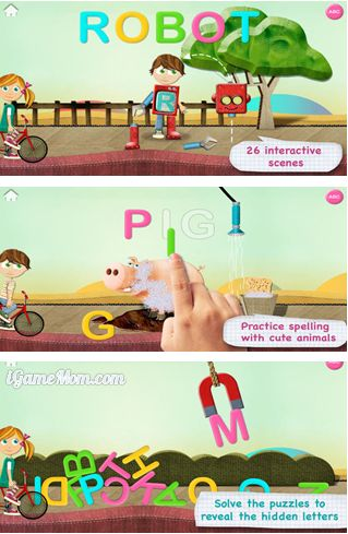 Learn ABC with Fun Games - Avokiddo ABC Ride