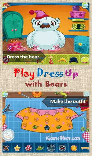 Play Dress Up with Bears
