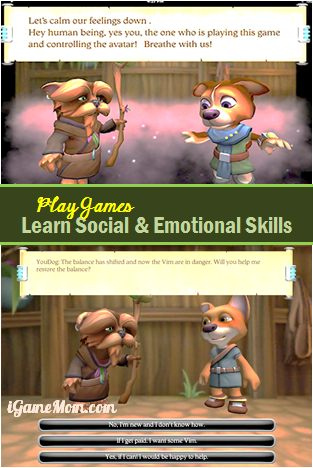Play Games and Learn Social Emotional Skills