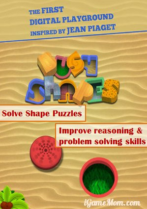 Solve Shape Puzzles for reasoning problem solving skills