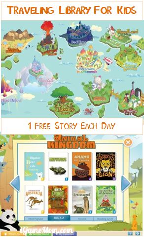 Traveling Book Library for Kids - Free Farfaria Book App