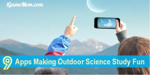 app making outdoor science learning fun