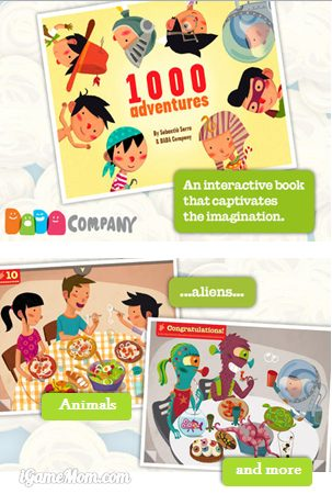 A book app sparkling child's imagination