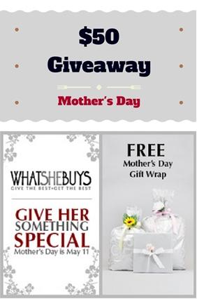 WhatSheBuys Giveaway