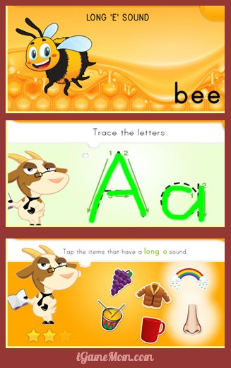 phonics workbook on the go - long and short vowels