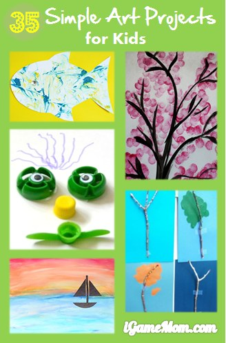 35 simple art projects for kids