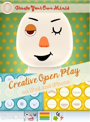 Fun Creative Open Play on iPad - Toca Mini App