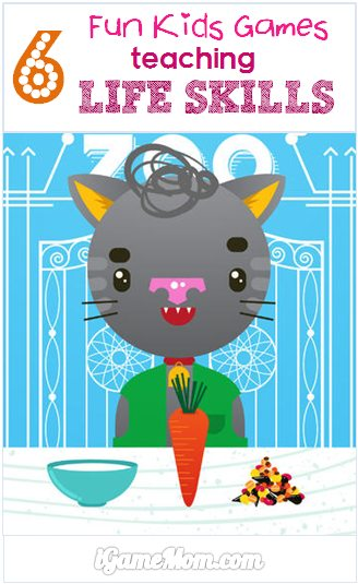 Fun Kids Game App Teaching Life Skills