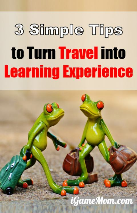 Simple yet helpful tips to make family travel easy and fun for kids and parents, turn travel into learning experience for kids | parenting hack