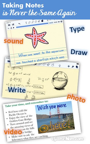 Taking Notes is never the same again with Notability App