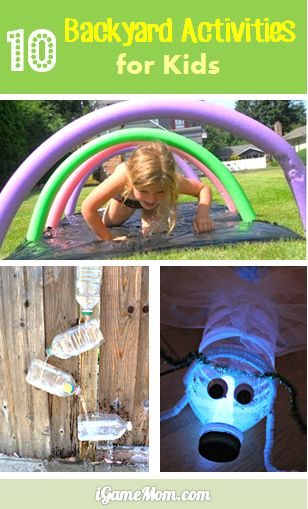 10 backyard activities for kids