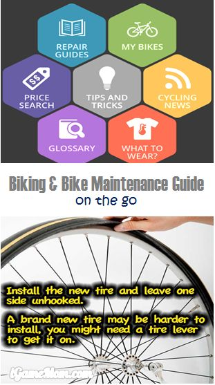 Biking and Bike Repair Maintenance Guide on the go