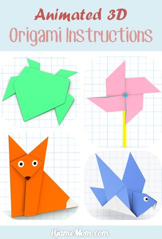 Easy To Follow Animated 3D Origami Instructions