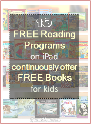 Free Reading Programs continuously offer free books to kids