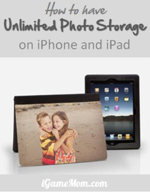 How to have unlimited photo storage on iPhone iPad