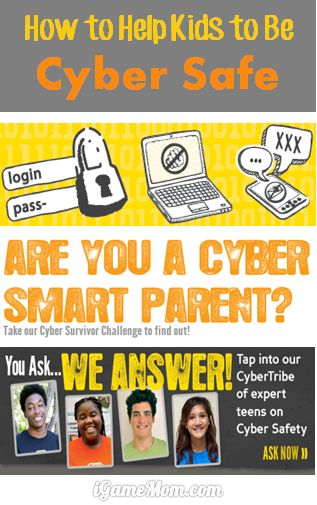 How to help kids be cyber safe