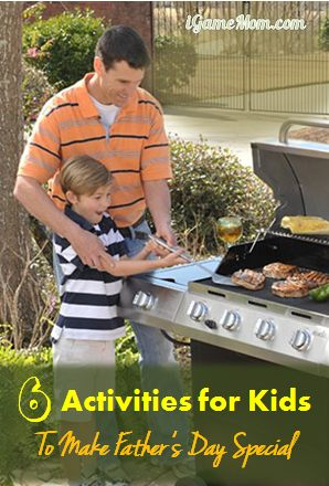 Kids activities to make Father's day special