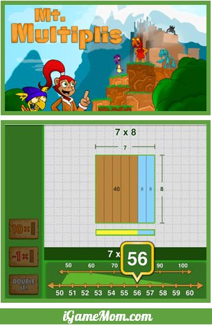 Math App Teaching Kids Multiplication