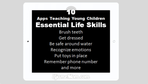apps teaching young children life skills